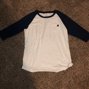 Ivory Ella 3/4 sleeve shirt